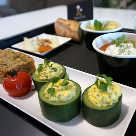 Plateau végétarien sans gluten
