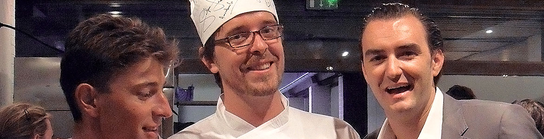 cyril lignac thomas sardou traiteur et chef